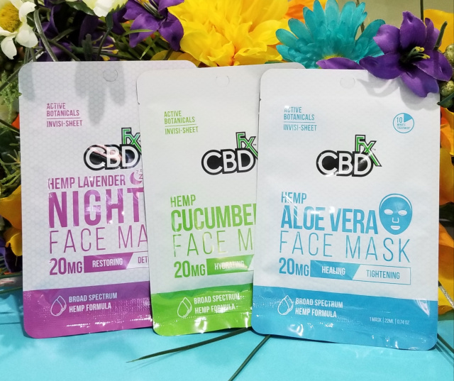 CBD FX CBD Face Masks