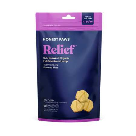 Honest Paws CBD Dog Biscuits Relief