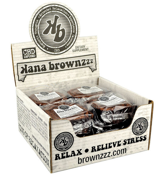 Brownzz Kana Baked Brownies with CBD