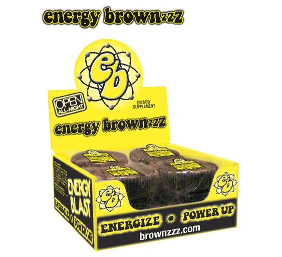Buzz Brownzzz Energy Brownies